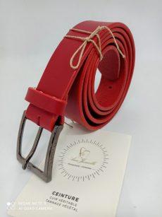 cuir rouge